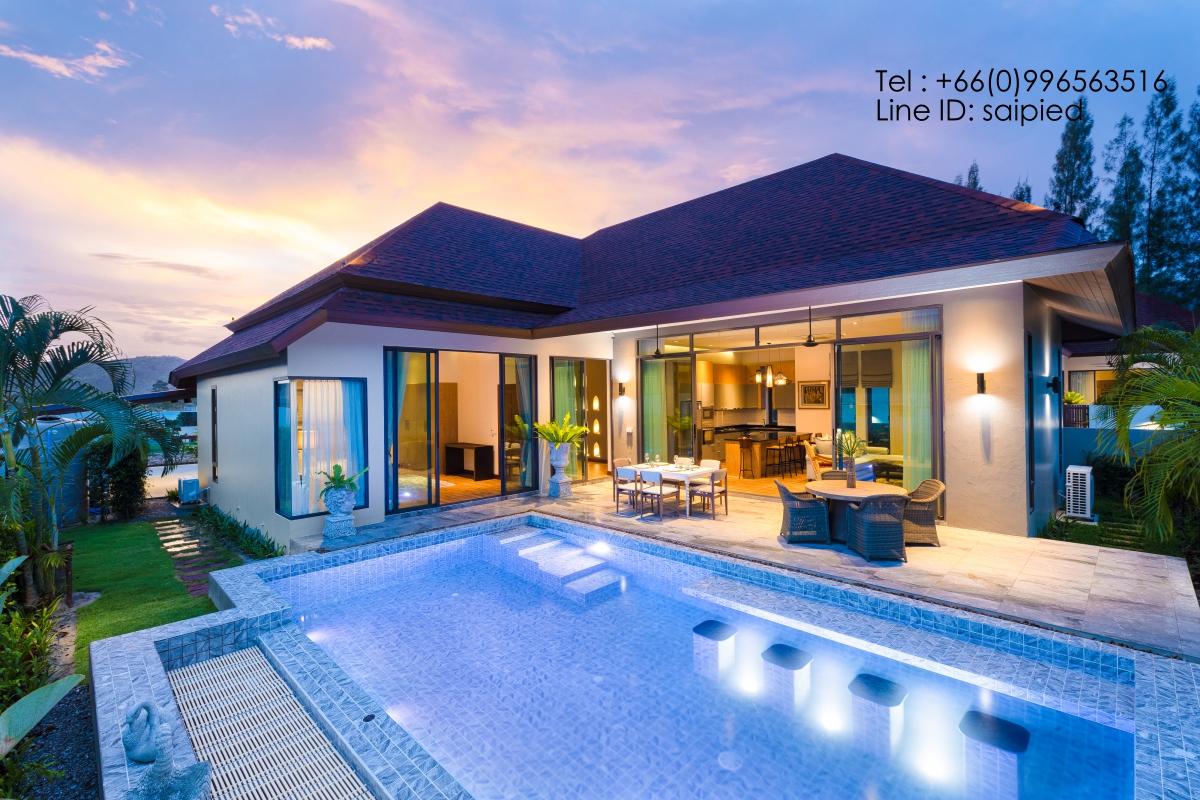 Modern Bali Style Villa Hua Hin