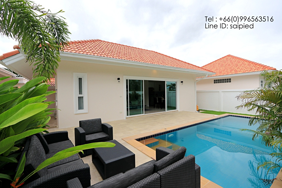 Hua Hin 2 Bedrooms Pool Villa