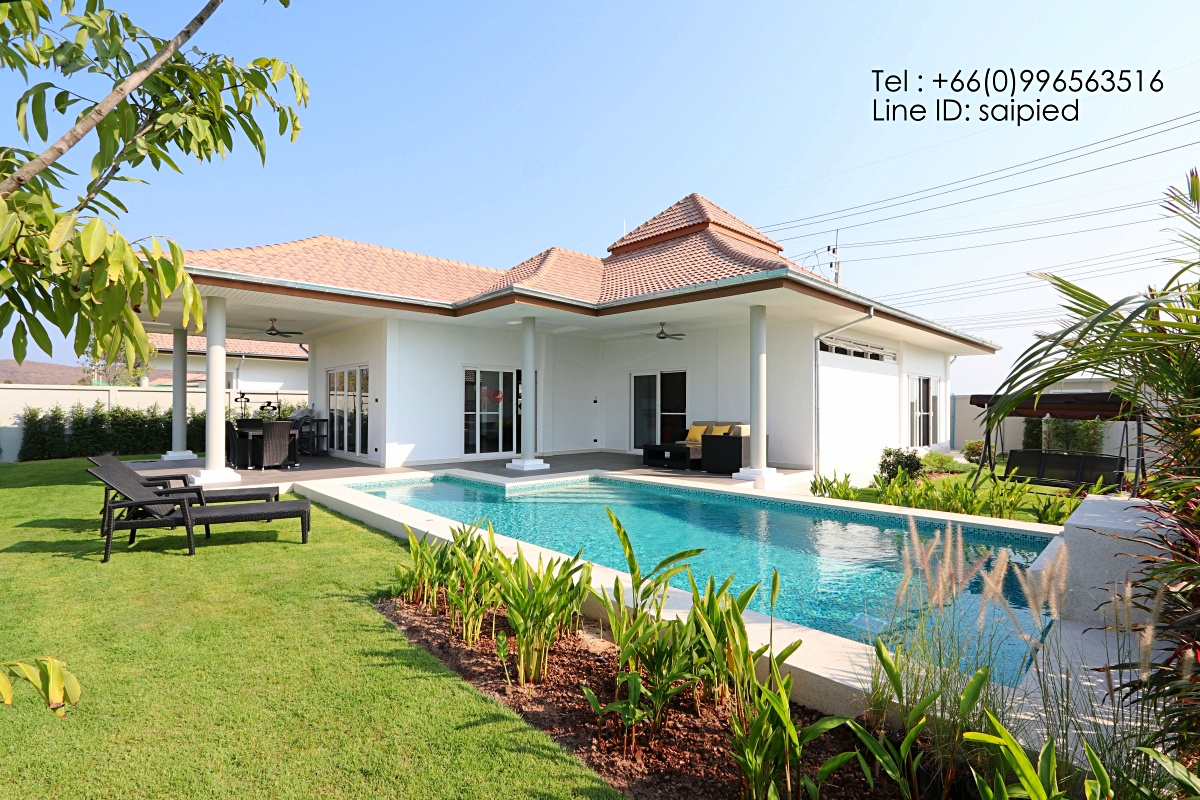 Modern Villa Hua Hin for Rent