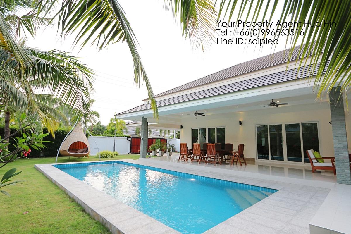 Modern Villa Hua Hin for Rent