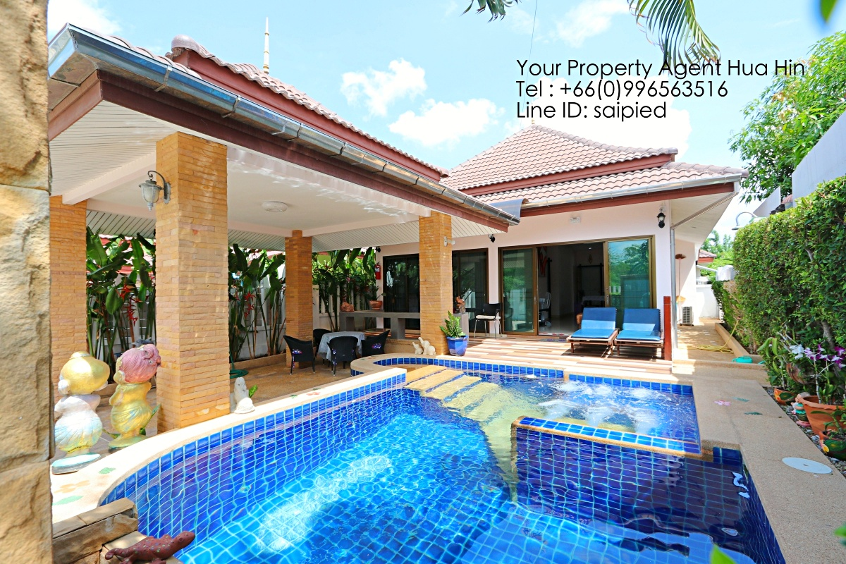 2 Bedrooms Pool Villa Hua Hin