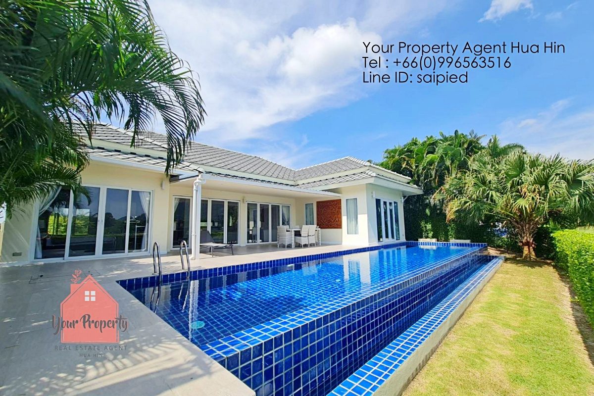 Villa Hua Hin in Golf Course