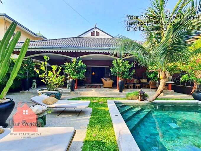 Thai Balinese Style Villa for Sale