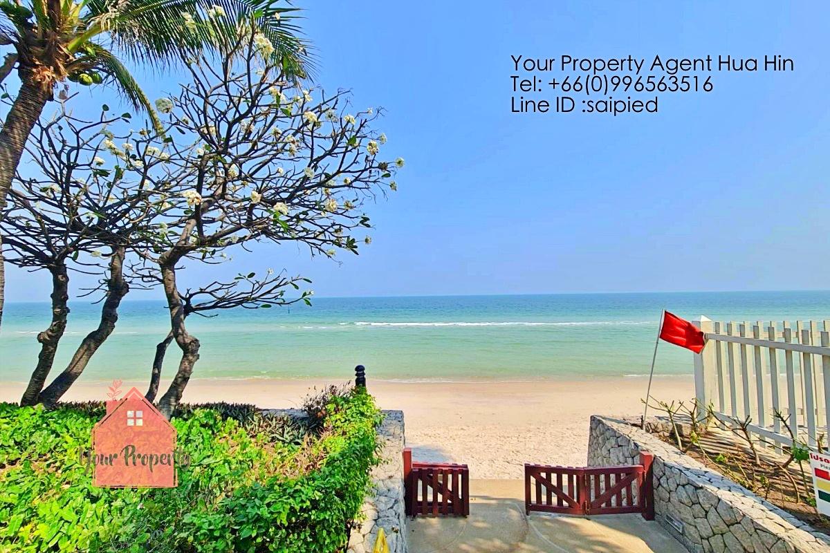 Beachfront Condo Hua Hin