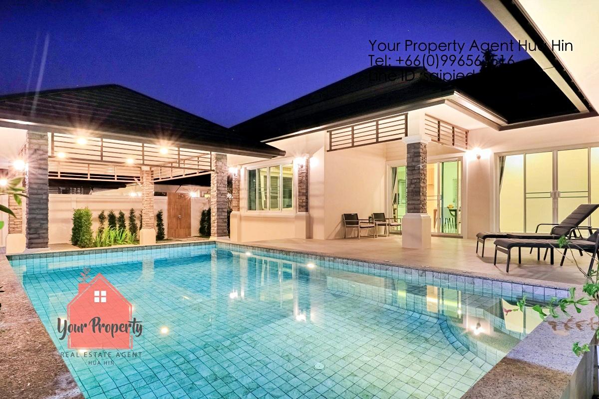 3 Bedrooms Pool Villa Hua Hin