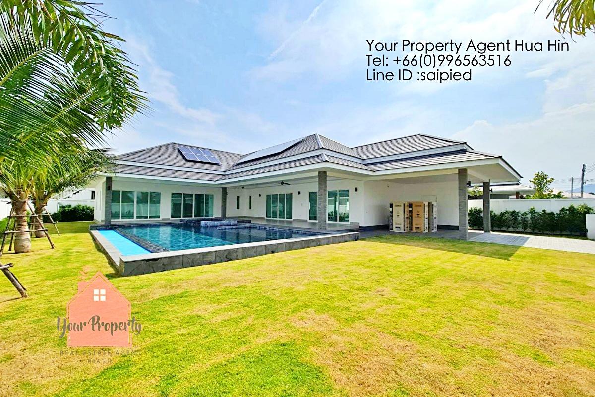 New Modern 4 Bedrooms Villa