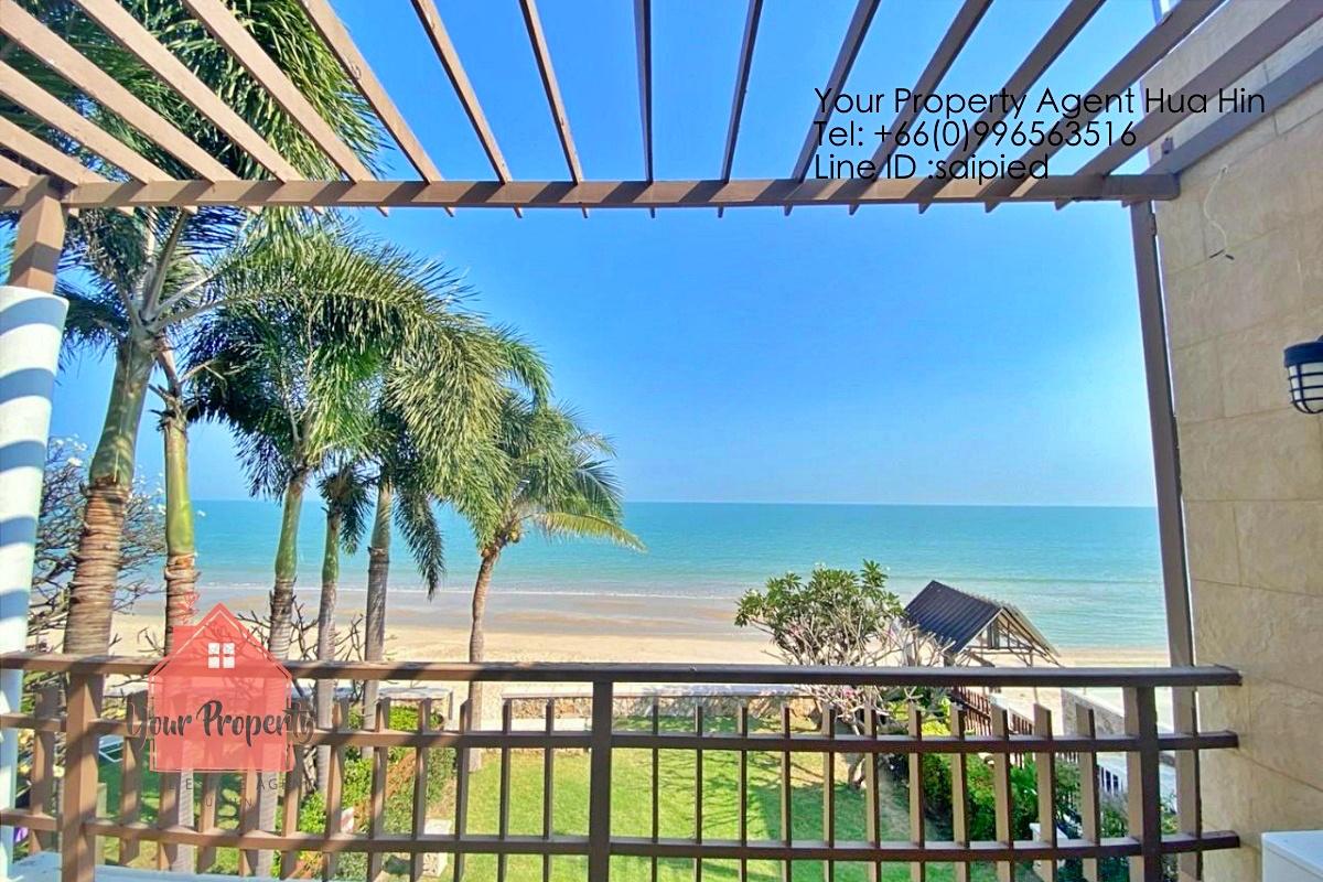 Beachfront Villa Cha Am