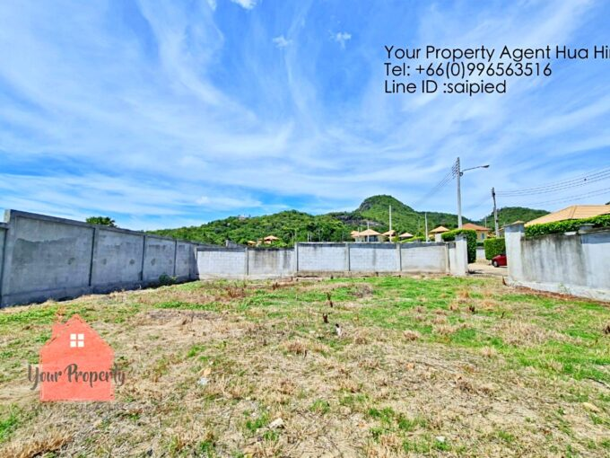 Land in the Project Hua Hin