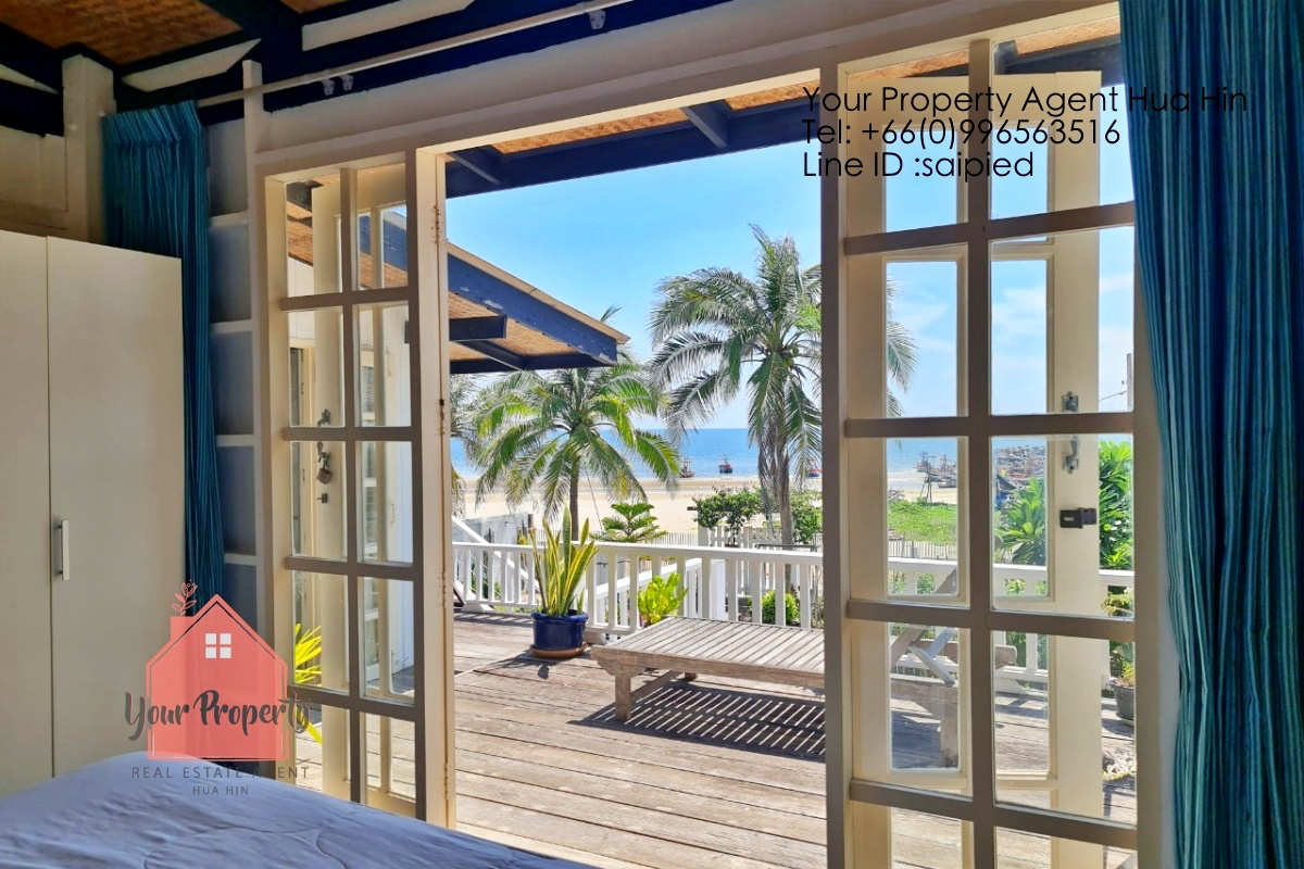 Beach front House Hua Hin