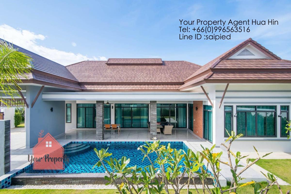 Luxury Villa 3 Bedrooms Hua Hin